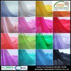2014 new popular 100% recycled polyester pure silk chiffon fabric fashionable garments