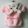 Outono inverno& deve- ter um item aiyangyang marca handmade crocheted elegante& cute baby sweater 2014 nova venda direta da fábrica