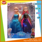 2014 New toys 11 inch Anna and Elsa Frozen Dolls