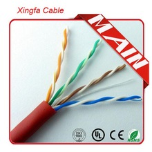 100% Fluke passed 305m Lan Cable CAT5e UTP 24 awg telephone cable