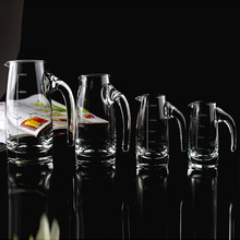 different volume glass crystal decanter