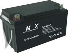 12V 80ah Sealed lead acid battery