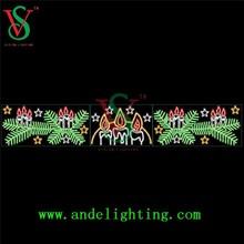 led cross street light LED motif light holiday lighting Christmas decoration
