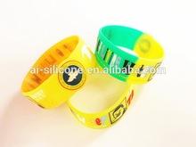 Promotional bracelet/silicone wrist band