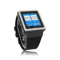 2014 Newest Watch Phone S6 Android4.0 Quad Band 3G Smart Watch Phone Bluetooth Camera WIFI MP3/MP4