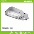 de un solo brazo de montaje poste de luz de inducción de la lámpara de la calle