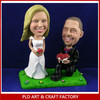 polyresin figurine, wedding bobblehead