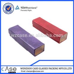 WZ Unique design plastic transparent case for reading glasses T94CASE