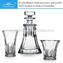 750 ML CRYSTAL GLASS BOTTLES FOR GIN/RUM/WHISKY