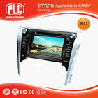 Top quality new style PLC toyota camry touch screen car dvd player
