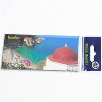 souvenir fridge magnet,tourist souvenir tin magnets 170*50mm