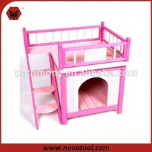 Wooden Cat House / Cat Kennel / Cat Cage with Ladder