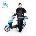 material de poliéster y raincoats tipo trajeimpermeable para los hombres