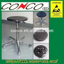 Black ESD Antistatic PU Foam molding cleanroom Chair