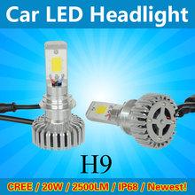 car led headlight bulb low beam in one auto led headlight LED kit H9