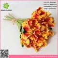 Cabeça de flor artificial grinaldas, arranjos de flores artificiais com vaso
