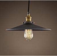 Classical Vintage aged steel pendant light black vintage pendant light/ce rohs pendant lamp/110-240v