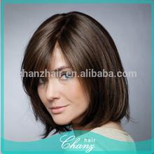 100% virgin remy European human hair jewish wig kosher wigs for man/ women peluca