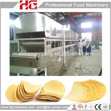 HG Full automatic productive potato chip fryer machine/Pringles potato chips fryer machine /compound potato chips fryer machine