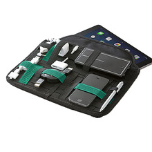 Unique Creative Elastic Organizer Board Electronic Gadgets grid IT organizer