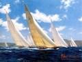 Ondas do mar clássico ondas do oceano pintura