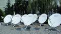 1.8 metro ku alta ganancia de banda portátil manual de antena vsat