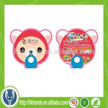 new popular mini plastic hand fan,small plastic fan