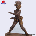 Japonés sexy chica estatuilla, de dibujos animados de la escultura de arcilla, la figura de resina prototyppe