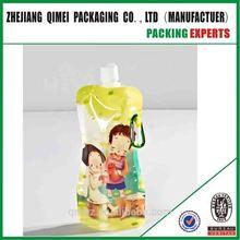 Custom Logo Design Translucent Folding Water Bottle