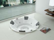 new drop-in hydromassage bathtub, new round hot tub, portable Q-tub