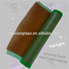 good quality 350mm green fiberglass Mesh sealing waterproof printed tape