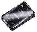 Nuevo producto hdmi transmisor de fibra óptica de hdmi extenderir rs-232/ir función extendida