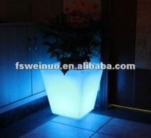 2015 weinuo LED chrismas party festival flower pot decoration 8711
