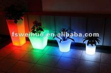 2015 weinuo LED chrismas party festival flower pot decoration 8715
