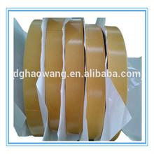 Die cut 3 m fita de pvc em pequenos rolo com liberação amarela