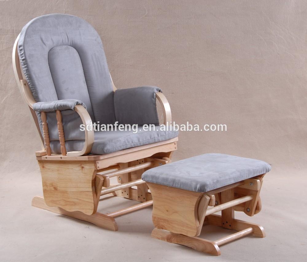 흰색 스웨이드 흰색 나무 흔들 의자 오스만-나무 의자 -상품 ID ...