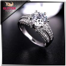 Wholesale Fashionable Female Diamond Ring Female Design Rhinestone Ring