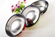 Hot sale Super Slip Resistance Pet Feeder Outdoor wholesale stainless steel dog bowl