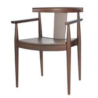 wooden restaurant chair/dining chair/cafe chair in fabric upholstery CH920