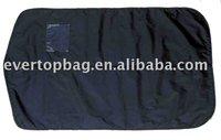 Popular fashion black high grade quilted garment bag