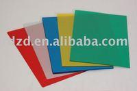 Plastic binding cover