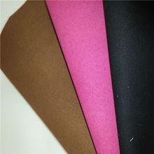 dois lado da camurça de microfibra sintética couro tecido
