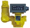 positive displacement bulk transfer flow meter, PD, petroleum, diesel, gasoline, tank truck, stock terminal