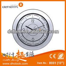 Antiqued Mechanical Skeleton Wall Clock