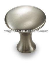 Stainless steel zinc satin nickel solid knob