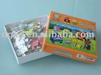 cartoon paper puzzles/jigsaw puzzles