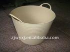 flexible plastic garden buckets&tubs,small plastic pail