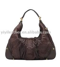 PY-198 Python bag,ladies hobo bag,python leather handbags