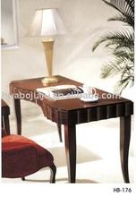 Hotel sell study desk(Malaysia rubber wood pu paint HB-176)