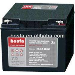 HR12-180W dry battery cell 12v 49ah 12v rechargeable vrla battery